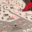 "Calendario ""La Gran Aventura de 2016"". A Grafikdesign und Spieldesign project by Eneko Palencia - 29.12.2015"