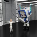 Proyecto: Robot galáctico. Un proyecto de 3D, Cine y Diseño de juegos de Aranzazu Hurtado Ruiz - 09.01.2016