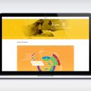 Website escuela de yoga: Yogui Ji. Um projeto de Design gráfico e Web design de Carlos Quesada Vílchez - 15.01.2016