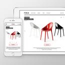 Página web responsive de Foca. Um projeto de Design, Motion Graphics, UI / UX e Web design de Ulyana Kravets - 25.01.2016