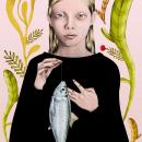 Mi Proyecto del curso: Del dibujo a lápiz a la ilustración digital,  @ana_serna. Un proyecto de Ilustración de Ramón Torres - 27.01.2016