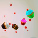Cup cakes colors. Um projeto de 3D de Carlos Rodriguez Smith - 03.02.2016
