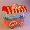 Ice Cream . Um projeto de 3D, Design gráfico e Ilustração de Carlos Rodriguez Smith - 03.02.2016