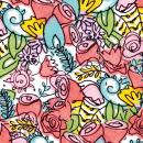 ANA JUÁREZ / DISEÑO FLORAL. Un projet de Design , Illustration, Direction artistique, Br, ing et identité , et Design graphique de Erin Herrera - 19.05.2015