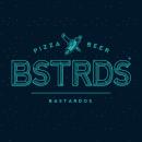 BSTRDS - PIZZA & BEER. Um projeto de Ilustração, Direção de arte, Br, ing e Identidade e Design gráfico de Toñito Balderrama - 19.02.2016