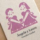 Ángela y Laura. Un proyecto de Ilustración, Fotografía, Artesanía, Diseño gráfico y Packaging de Heroine Studio - 02.03.2016