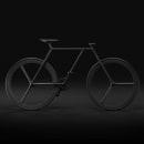 BAIK - diseño minimalista de bicicleta. A Design, 3D, Animation, Br, ing, Identit, Graphic Design, Industrial Design, Product Design, T, and pograph project by Ion Lucin - 03.20.2016