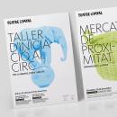 Carteles Teatre del Raval. Un proyecto de Dirección de arte, Diseño editorial y Diseño gráfico de Baptiste Pons - 03.04.2016