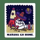 STICKER SET. Un proyecto de Diseño, Ilustración, Diseño gráfico y Serigrafía de Copete Cohete - 07.04.2016