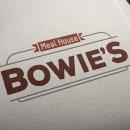 BOWIE'S Meal House. Un proyecto de Br, ing e Identidad y Diseño gráfico de Chema Castaño - 08.04.2016