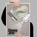 CinemaJove 2013. Un proyecto de Diseño gráfico de Jose Ribelles - 13.04.2016