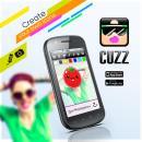 CuzzApp. Un proyecto de Diseño gráfico de Jose Ribelles - 13.04.2016