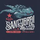 "Estrella Damm ""Sant Jordi Musical 2016. A Kunstleitung, Illustration, T und pografie project by Sirōko Studio - 24.04.2016"