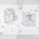ATRIO BIANCO | Menu Bianco Osteria . Un proyecto de Ilustración, Dirección de arte y Diseño editorial de Juan Camilo Castillo Perea - 26.04.2016