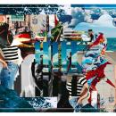 """Collage """" VIDA"""". Un proyecto de Diseño, Ilustración, Publicidad, Fotografía, Dirección de arte, Br, ing e Identidad, Moda, Bellas Artes, Diseño gráfico, Marketing, Pintura y Arte urbano de Paul Guerrero Bustamante - 03.05.2016"""