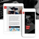 Trenat Comunicaciò: Web Design. Un proyecto de UI / UX, Diseño gráfico, Diseño interactivo, Serigrafía, Diseño Web y Desarrollo Web de Gonzalo Cervelló Rementería - 04.05.2016