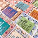 Centro Cultural de España Calendars 2015. Um projeto de Direção de arte, Design editorial e Design gráfico de Marova - 16.05.2016