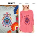estampas / remeras y vestidos by benito. Un proyecto de Diseño de Maria de los Angeles Cejas - 22.05.2016