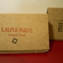 Laura Mars Creations. Identidad visual handmade. A Design, Fine Art, Graphic Design, and Paper Craft project by Laura Mars - 06.02.2016