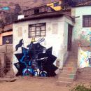 Toro Loco en Fiteca. Um projeto de Ilustração, Instalações, Fotografia, Direção de arte, Pintura e Arte urbana de karol narciso - 10.06.2016