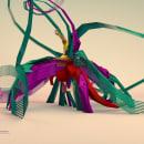 3D Geometric Swan. Un proyecto de 3D y Dirección de arte de SUBCUTÁNEO - 15.06.2016