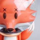 FOXY. El zorro que vive en la Luna. Um projeto de 3D de Jao Rándich - 02.07.2016