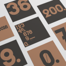 Numbers. A Design, T, and pograph project by Pablo Moreno - 07.05.2016