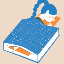 Lecturas Nocturnas. Un proyecto de Ilustración de ILEANA ROVETTA - 22.07.2016