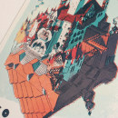 Tributo a Wilco. Un proyecto de Diseño gráfico e Ilustración de Juan Esteban Rodríguez - 16.08.2016