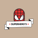 Super Hero´s / Old School. A Graphic Design & Illustration project by Darío - 07.05.2016