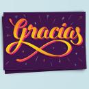 Gracias. Un proyecto de Diseño, Diseño gráfico y Serigrafía de BlueTypo - 08.10.2015