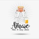 Cerveza Artesana San Amaro. Um projeto de Br, ing e Identidade, Design gráfico e Packaging de Javier Alés - 17.09.2016