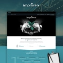 Improven Corporate website. A Web Design, and UI / UX project by Alfredo Merelo - 09.18.2016