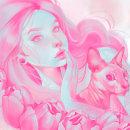 pink in love. Un proyecto de Ilustración, Bellas Artes y Cómic de Valeska Polo Gamarra - 26.09.2016