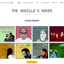 Diseño página web - Elena Rosillo. Um projeto de Web design de Néstor Tejero Bermejo - 26.09.2016