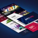 FC Barcelona Megastore. Un proyecto de UI / UX, Dirección de arte, Arquitectura de la información, Diseño interactivo y Diseño Web de Plastic Creative - 07.07.2015
