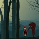 Caperucita Roja.. Un proyecto de Diseño gráfico e Ilustración de Guilliana Bullón Benvenutto - 05.10.2016