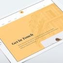 Agathe Knockaert. A Br, ing, Identit, Interactive Design, and Web Design project by Kike Escalante - 10.10.2016