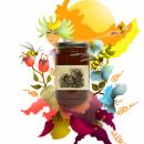 Ilustración exprés con Illustrator y Photoshop. Got Honey. Um projeto de Ilustração e Design de produtos de MariaPaula Quiva - 12.10.2016