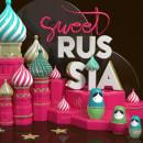Sweet Russia. Un proyecto de Motion Graphics, 3D, Animación, Dirección de arte y Diseño gráfico de Marina - 23.10.2016