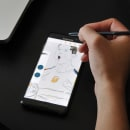 Probando un Samsung Galaxy Note 7 con Adobe Draw. Un proyecto de Bellas Artes e Ilustración de daniel berea barcia - 01.11.2016