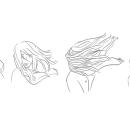 Blonde dans le vent. Um projeto de Comic e Ilustração de Verónica G. Lagos - 03.11.2016