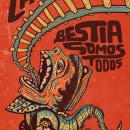 La Bestia. Um projeto de Design, Ilustração, Design de personagens, Artes plásticas e Serigrafia de Lalo Huesca - 16.11.2016