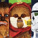 Tributo a Star Wars . Um projeto de Ilustração de Juan Pablo Elias - 24.09.2015