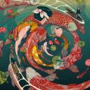Ukiyo-e Tale. Um projeto de Artes plásticas, Comic e Ilustração de Nicolás Castell - 26.11.2016