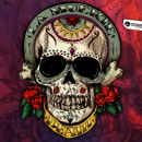 La Muerte  Ilustración. A Illustration, and Graphic Design project by Daniel Vargas - 10.27.2016