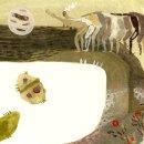 """El Políptico de los Iluminados"". Um projeto de Ilustração de Raquel Fernández ( EFEALCUADRADO) - 10.09.2016"