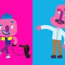 Diseño de personajes y concept art para Bilz y Pap 2016. Un projet de Direction artistique , et Character Design de Felipe Zavala Muñoz - 12.12.2016
