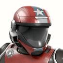 Cosmonauta. Um projeto de 3D e Design de personagens de Juan Carlos Blanco - 02.01.2017