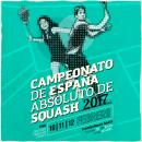 Cartel Campeonato Nacional De Squash 2017. Um projeto de Direção de arte, Design e Design gráfico de Lalo Garcia - 28.01.2017